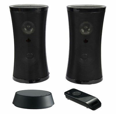 Wireless Speakers - Indoor and Outdoor Stereo Pair. 2 x Speaker With Long Range