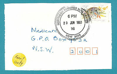 1993 Northern Suburbs M.C. New South Wales Cover