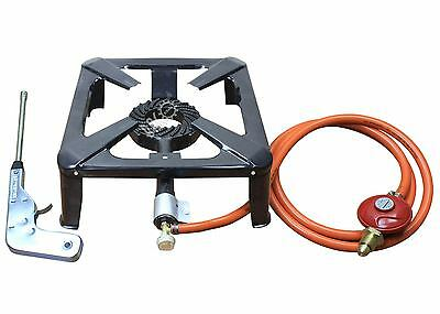 Cast Iron Gas Burner Cooker Gas Boiling Ring Restaurant Catering Camping Stove