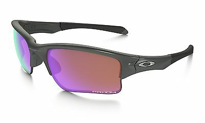Oakley Quarter Jacket Kinder Youth Steel / Prizm Golf Sport Sonnenbrille