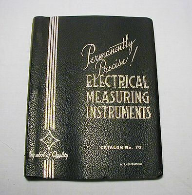 Sensitive Research Instrument Co. Catalog #70, circa 1959, good condition!