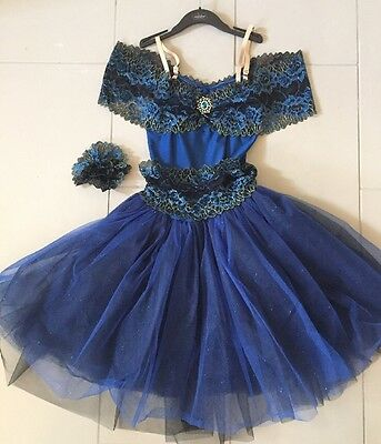 """Rhapsody In Blue"" Ballet Costume By Revolution, Size Adult Medium"