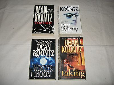 Lot Of Four Dean Koontz  Paperback Books