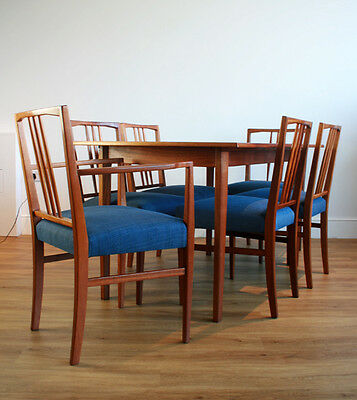 A 1950s Dining Table & Six Chairs by Gordon Russell