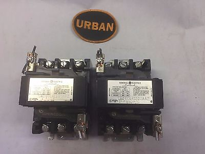 Ge Cr360L41300Aaz General Electric 3 Pole 60 Amp Lighting Contactor 120 V Coil