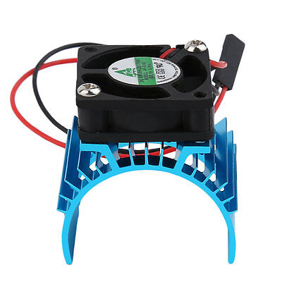 Durable Motor Heatsink And Fan Cooling Aluminum Electric Engine RC HSP Model OK