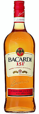 Bacardi 151- Rare and Discontinued Liquor (1 Liter)