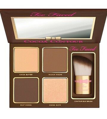 NEW Too Faced Cocoa Contour Palette Deep Contouring & Highlighting Kit Authentic