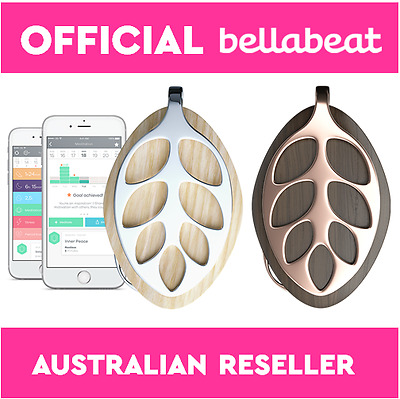 NEW Bellabeat Leaf Nature Fitness Activity Tracker Smart Jewellery