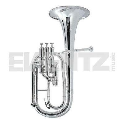 Besson BE152 New Standard Eb Tenor Horn Silver