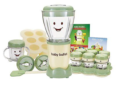 Magic Bullet Baby Care System Replacement Food Processor Blender Cups Storage