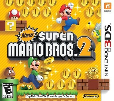 New Super Mario Bros. 2 (Nintendo 3DS, 2012) - Game Only FREE SHIPPING