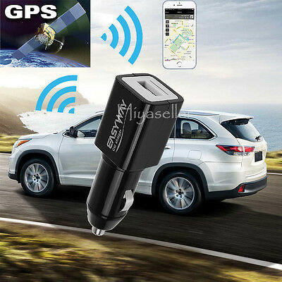 Vehicle Car Hidden Mini GPS Tracker Professional Spy Hidden Locator USB Charger