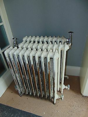 Antique Victorian Cast Iron Radiators x4