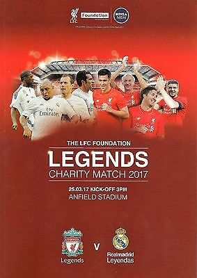 Liverpool Legends v Real Madrid Legends - Charity Match - 25 March 2017 - MINT