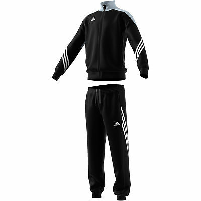 adidas Sereno 14 Kids Youth Polyester Full Zip Tracksuit Set