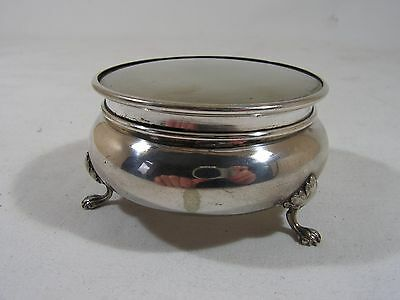 Antique Vintage Silver Plated Jewellery Box, Ring Box