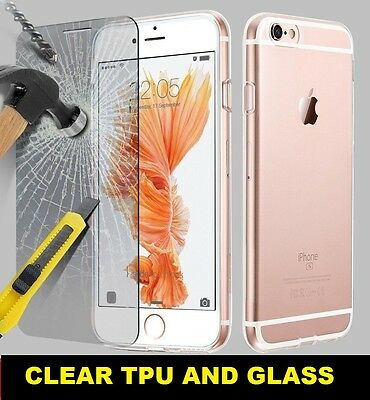 Ultra Thin Slim 360 TPU Gel Skin Cover Case Pouch for Apple iPhone 7 6 Plus 5 SE