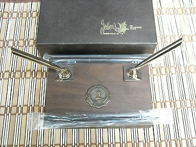 University of Nebraska Vintage Josten's Desk Pen Set Unused New in Box