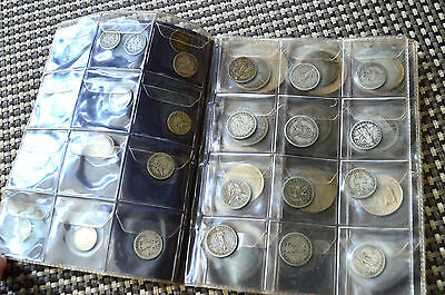 Lot of 38 US Philippines Other World Silver Coins Misc Dates Denominations
