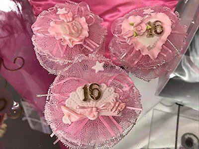 Sweet 16 Corsage Capia Corsage Favor Decoration Assorted 12 Ct