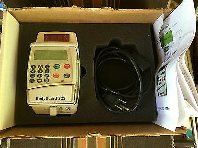 CME BodyGuard 323 Volumetric Infusion Pump With Charger & Cord 2013 Works Great!