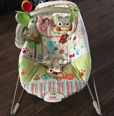 Fisher Price Woodsy Friends Comfy Time Bouncer Chair