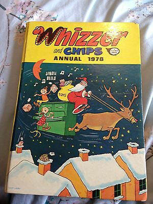 Whizzer and chips Annual 1978