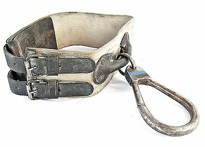 Vintage Ladder Escape Belt Atlas Safety Firefighter Lineman's Fireman's