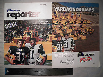 Fiat Allis reporter Volume 39, Number 2 + Yardage Champs Poster