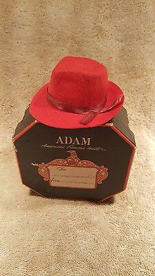 "Vintage Adams ""Gift Certificate"" Hat and Box"