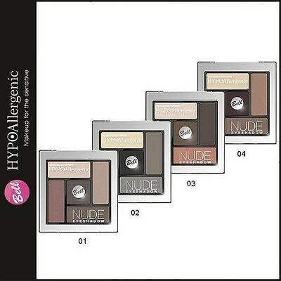 E61 Bell Hypoallergenic Nude Eyeshadow Palette Professional Make-Up