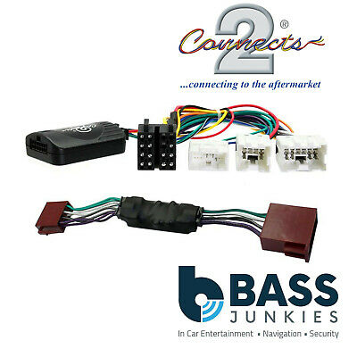 For NISSAN X-TRAIL T30 01-08 Car Stereo Steering Wheel Interface Kit CTSNS017.2