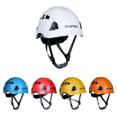 Professional Safety Helmet Hard Hat Rock Climbing Kayak Rescue Protection Equip