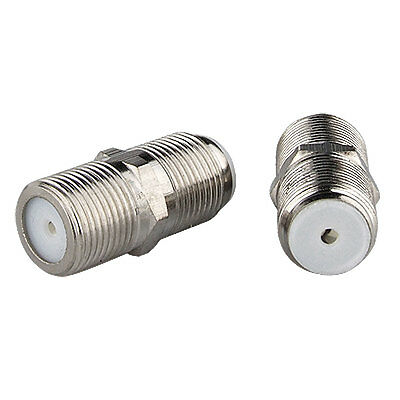 2 Pcs connector, f series 1 inch feedthru adapter for catv and satelite, 2GHz sp