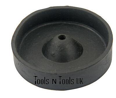 Wax Casting Rubber Sprue Base For Perforated Flasks Cylinders Vacuum 3 Sizes