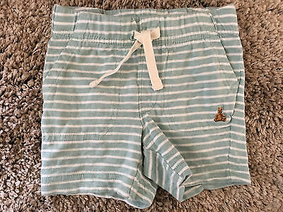 Baby Gap Toddler Boys 12-18 Months Elastic Waist Striped Knit Shorts