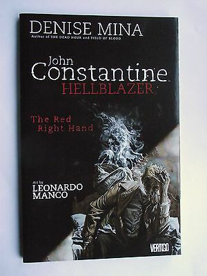 John Constantine: Hellblazer: The Red Right Hand. P/B July 4, 2007 D C Comics