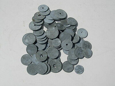 1940's WWII era German Third Reich Coins and Other Foreign Money