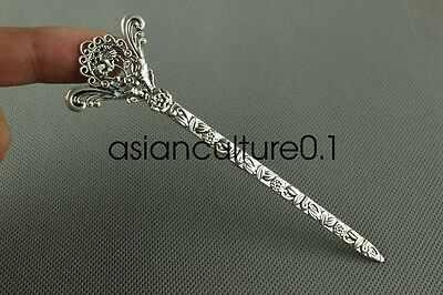 China new noble fashion Tibet silver carving Fancy Hairpin LMQQ120