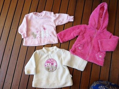 Girl Winter Bulk 3 Items Baby Sz 00 (3-6 mth) SPROUT Jacket PUMPKIN PATCH Jumper