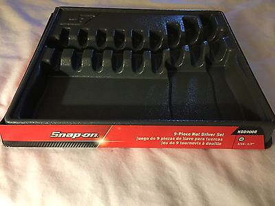 Snap-On Standard Pre Molded Nut Driver Case NDD900B