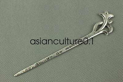 China new noble fashion Tibet silver carving Fancy Hairpin LMQQ118