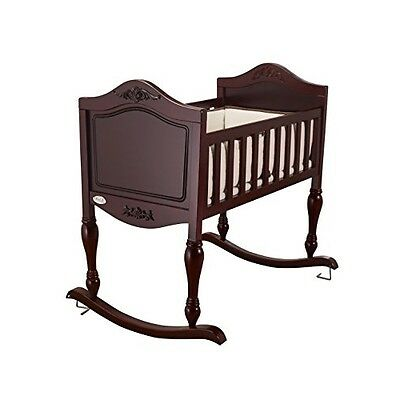 Baby Bassinet Cradle Nursery Rocker Crib Sleeper Toddler Newborn Wood Furniture
