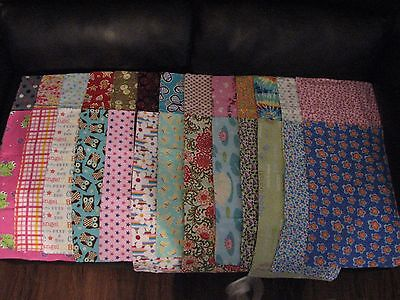 Handmade Girl and Unisex Baby Burp Cloths in Double Sided Flannel NEW