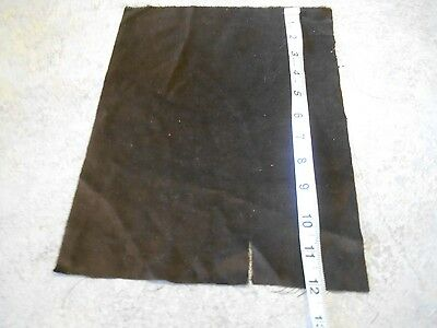 ANTIQUE BR  COTTON  VELVET REMNANT  for FRENCH FASHION-GERMAN BISQUE-CHINA DOLL