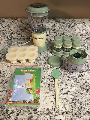 BABY BULLET Blender by Magic Bullet complete SET! - GOOD condition