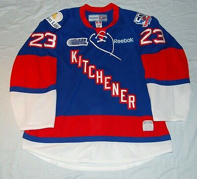 Kitchener Rangers OHL jesse young signed #23 pro jersey Size 58 100% Authentic!