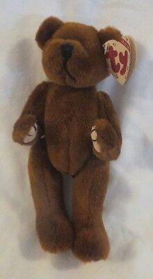 Ty Attic Treasures Henry the Brown Bear Fully Jointed 1993