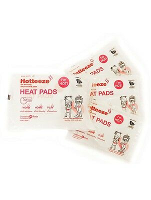 10pk Hotteeze Heat Pads | Invisible Adhesive Stick On Japanese Auto Heat Pack